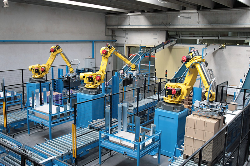 coman - soluzioni - handling - macchine pallettizzazione scatole
